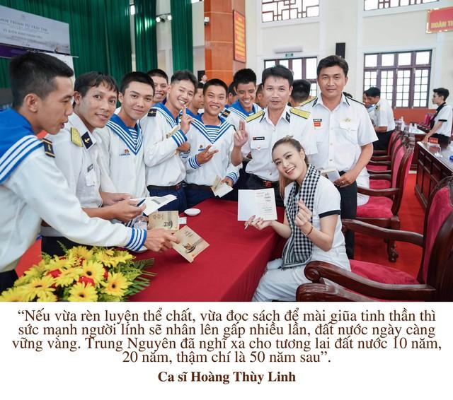"""Những câu nói truyền cảm hứng của của sao Việt trong """"Hành trình từ trái tim"""" vùng biển đảo - Ảnh 5."""