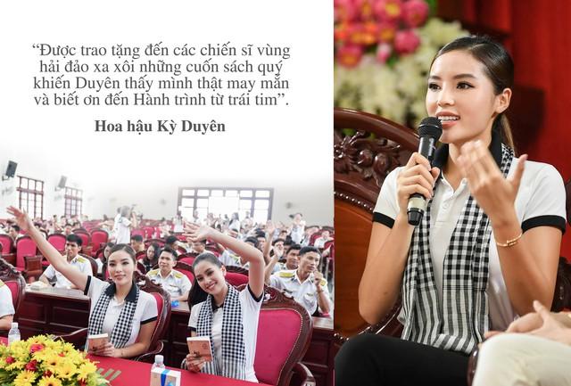 """Những câu nói truyền cảm hứng của của sao Việt trong """"Hành trình từ trái tim"""" vùng biển đảo - Ảnh 6."""