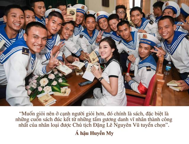 """Những câu nói truyền cảm hứng của của sao Việt trong """"Hành trình từ trái tim"""" vùng biển đảo - Ảnh 8."""