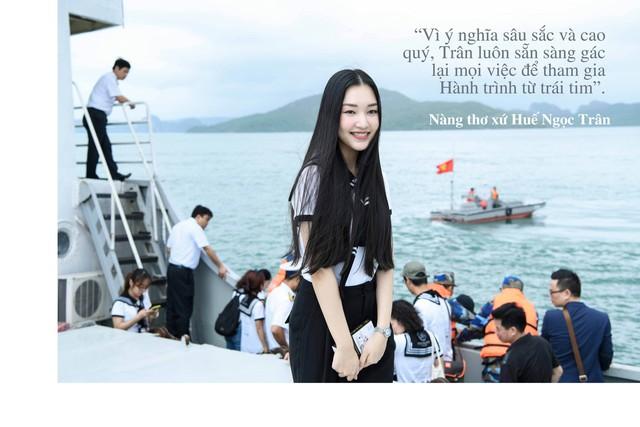 """Những câu nói truyền cảm hứng của của sao Việt trong """"Hành trình từ trái tim"""" vùng biển đảo - Ảnh 9."""