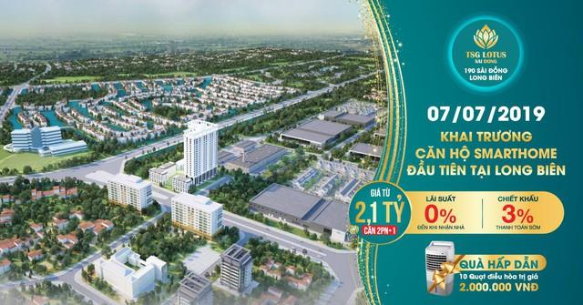 Khai trương căn hộ mẫu smarthome TSG Lotus Sài Đồng, Long Biên - Ảnh 1.