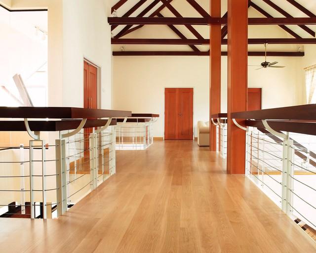 5 lý do nên chuyển từ sàn gỗ truyền thống sang sàn gỗ tự nhiên Engineered Ekogreen - Ảnh 1.