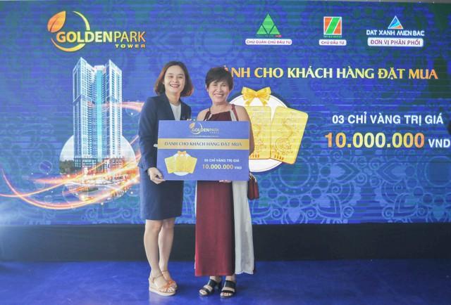 Goldenpark Tower hút khách tại sự kiện mở bán chính thức - Ảnh 1.