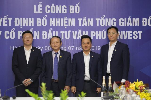 Công ty CP Đầu tư Văn Phú - Invest bổ nhiệm ông Đoàn Châu Phong giữ chức Tổng giám đốc Công ty - Ảnh 1.