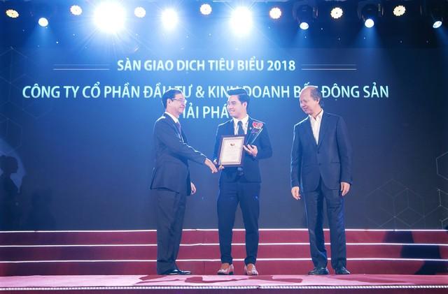 Hải Phát Land được vinh danh trong Top 10 sàn giao dịch bất động sản tiêu biểu năm 2019 - Ảnh 1.