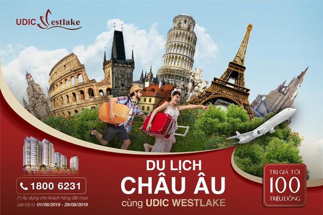 Du lịch châu Âu cùng UDIC Westlake - Ảnh 2.