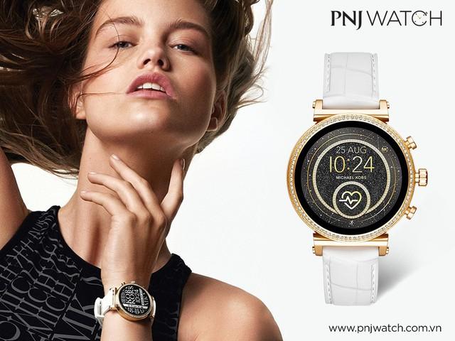 Siêu ưu đãi 19% khi mua smartwatch Michael Kors và Fossil tại PNJ Watch - Ảnh 2.
