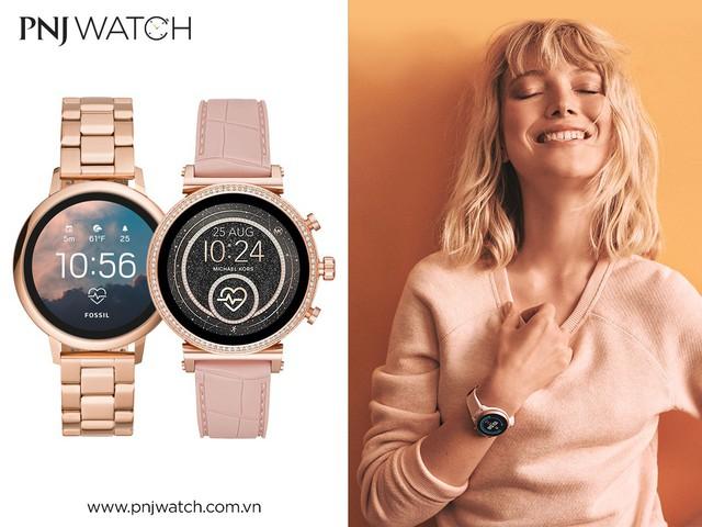 Siêu ưu đãi 19% khi mua smartwatch Michael Kors và Fossil tại PNJ Watch - Ảnh 3.