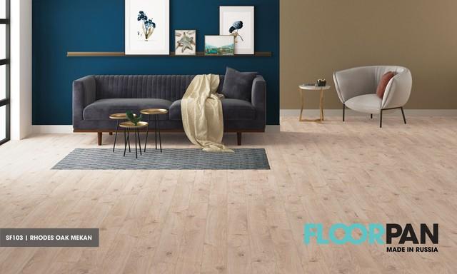 Chọn sàn gỗ cho phòng khách chung cư - Ảnh 1.