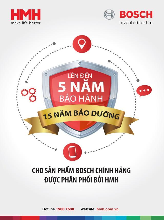 Tin vui cho bà nội trợ Việt, sắm đồ BOSCH chính hãng, không lo khâu bảo hành - Ảnh 1.