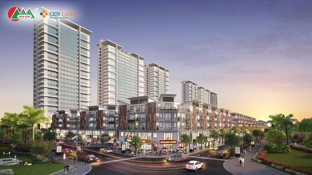 Khai Sơn Town ra hàng những căn Shophouse sầm uất nhất dự án - Ảnh 1.