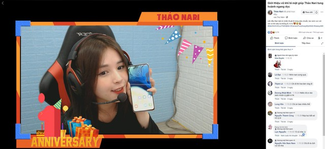 Trai xinh Trần Ba Duy và gái đẹp Thảo Nari cùng bật mí vũ khí bí mật khi livestream - ảnh 1