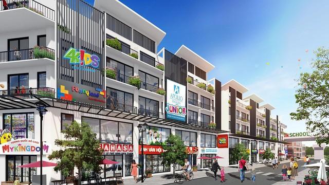 Khai Sơn Town ra hàng những căn Shophouse sầm uất nhất dự án - Ảnh 2.