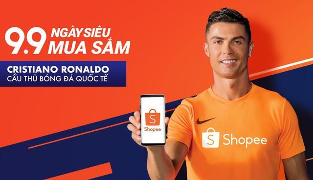 Huyền thoại bóng đá thế giới Cristiano Ronaldo trở thành đại sứ thương hiệu của Shopee - ảnh 1