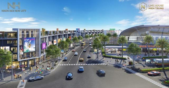 Linkhouse Miền Trung giải tỏa nhu cầu về đất biển với dự án Nhơn Hội New City - Ảnh 1.