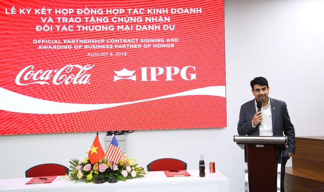 Đẩy mạnh hợp tác chiến lược, Coca-Cola Việt Nam và IPPG hướng đến phát triển bền vững - Ảnh 2.