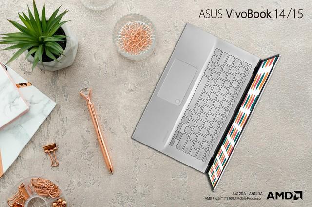 Trải nghiệm vi xử lí thế hệ mới của AMD cùng bộ đôi ultrabook đa sắc màu ASUS Vivobook A 2019 - Ảnh 3.
