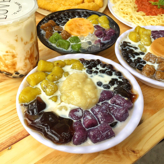 Thiên đường chè khoai dẻo và đồ ăn vặt siêu ngon tại Chick Garden - Ảnh 9.