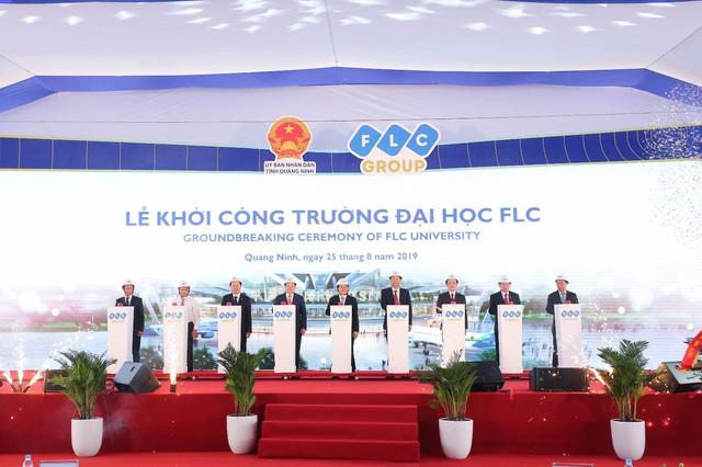 Chính thức khởi công Đại học FLC, mô hình đào tạo toàn diện tại Quảng Ninh - Ảnh 1.