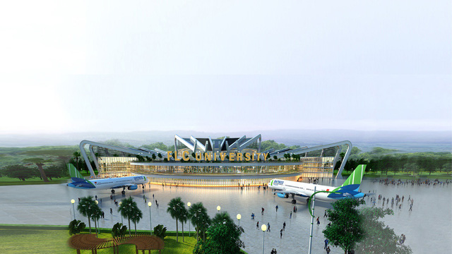 Chính thức khởi công Đại học FLC, mô hình đào tạo toàn diện tại Quảng Ninh - Ảnh 2.