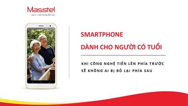 Tiên phong sản xuất smartphone cho người có tuổi – ý tưởng liều lĩnh nhưng đầy nhân văn của Masscom - Ảnh 2.