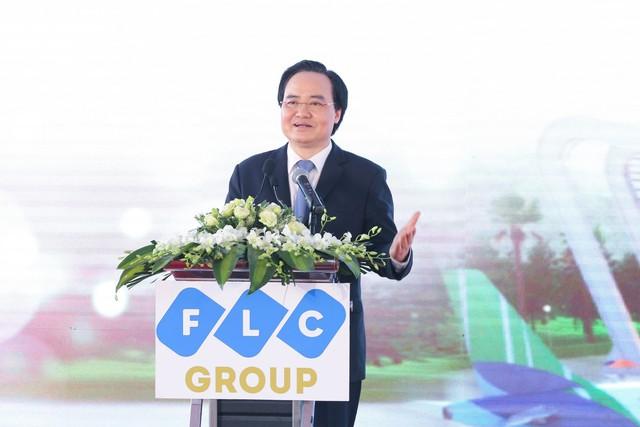 Chính thức khởi công Đại học FLC, mô hình đào tạo toàn diện tại Quảng Ninh - Ảnh 4.