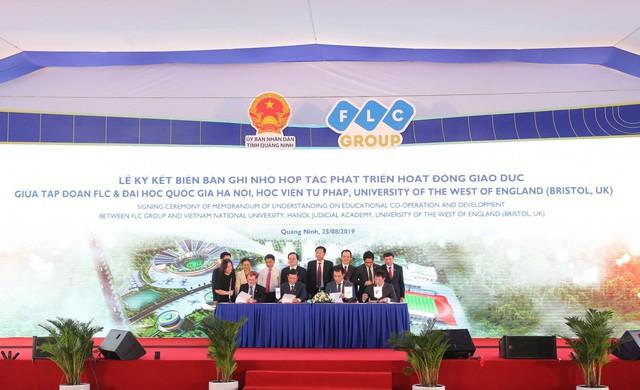 Chính thức khởi công Đại học FLC, mô hình đào tạo toàn diện tại Quảng Ninh - Ảnh 6.