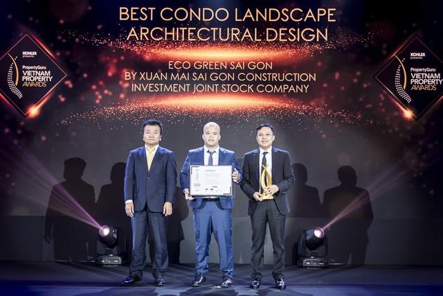 Eco Green Sài Gòn thắng lớn tại PropertyGuru Vietnam Awards 2019 - Ảnh 1.