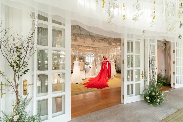 H'hen Nie, Nhã Phương và dàn khách mời tên tuổi xinh đẹp rạng ngời tham dự triển lãm cưới cao cấp của PHUONG MY - ảnh 1