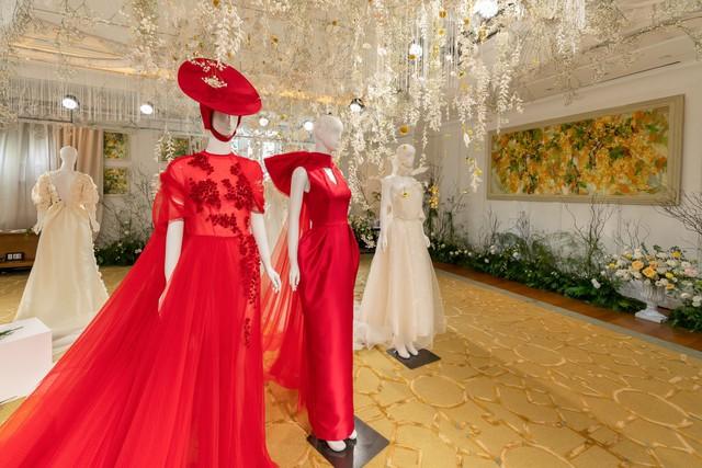 H'hen Nie, Nhã Phương và dàn khách mời tên tuổi xinh đẹp rạng ngời tham dự triển lãm cưới cao cấp của PHUONG MY - ảnh 2