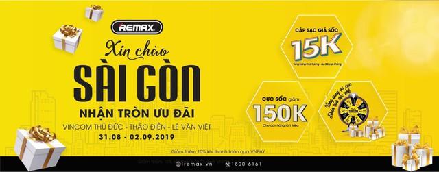 Remax – Thiên đường phụ kiện chính hãng ra mắt Sài Gòn với 3 showroom hoàng tráng - Ảnh 4.