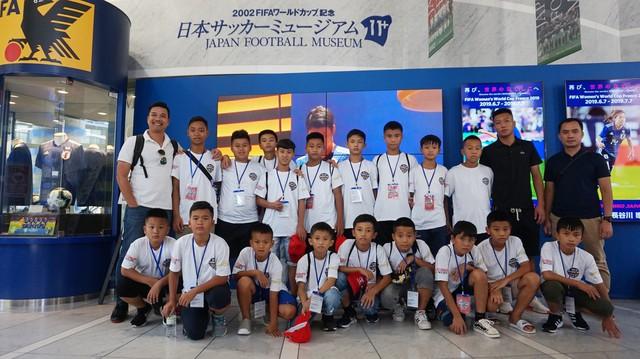 18 tài năng nhí Việt Nam sang Nhật Bản thi đấu giao hữu - Ảnh 1.