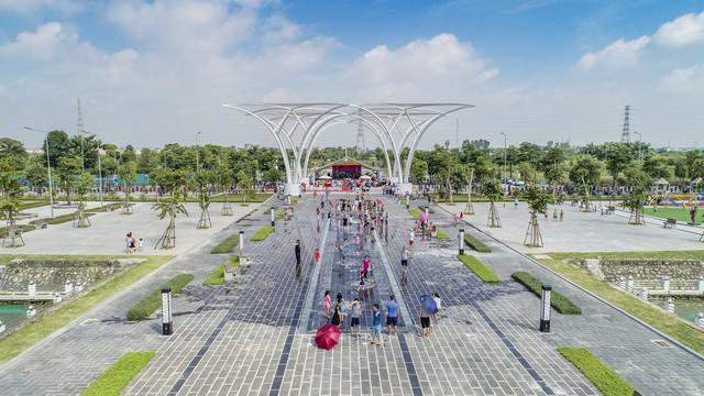Hàng trăm khách mời và cư dân đến tham dự Lễ Khánh thành Công viên Âm nhạc - Ảnh 1.