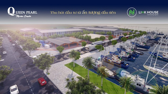 Đón cơ hội với khu đô thị lấn biển Queen Pearl Marina Complex tại Bình Thuận - Ảnh 1.