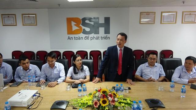 Lễ ký kết hợp tác chiến lược giữa G7 taxi và bảo hiểm BSH - Ảnh 1.