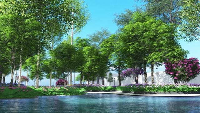Sắp xuất hiện toà tháp đầu tiên của thị xã Bến Cát, Bình Dương - Ảnh 2.