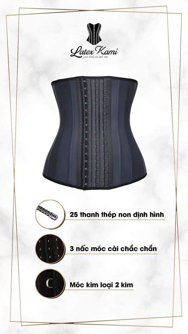 Diễn viên Phương Oanh tiết lộ bí quyết sở hữu vòng eo con kiến từ đai nịt bụng Latex Kami - Ảnh 4.