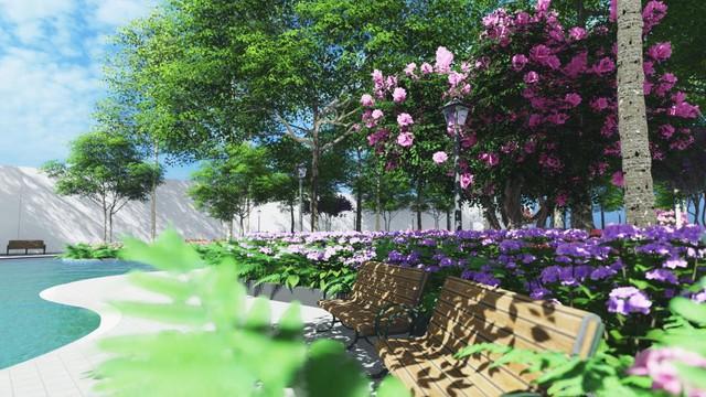 Sắp xuất hiện toà tháp đầu tiên của thị xã Bến Cát, Bình Dương - Ảnh 4.