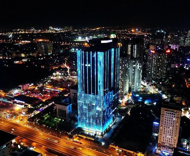 Sunshine Homes thay đổi diện mạo đô thị Hà Nội bằng công nghệ ánh sáng. - Ảnh 1.