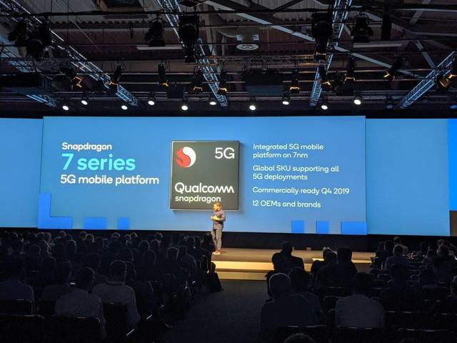 Sắp ra mắt một thế hệ sản phẩm đón đầu xu hướng nền tảng di động 5G với vi xử lý Snapdragon series 7 - ảnh 1