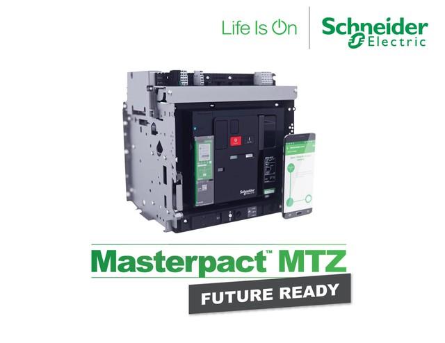 Schneider Electric ra mắt dòng sản phẩm máy cắt hạ thế Masterpact MTZ Future Ready - Ảnh 1.