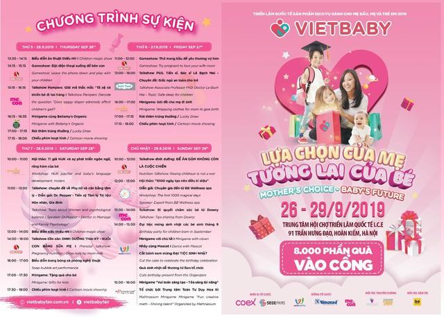 Triển lãm Vietbaby: Địa điểm vui chơi cho bé và không gian mua sắm cho mẹ - Ảnh 3.