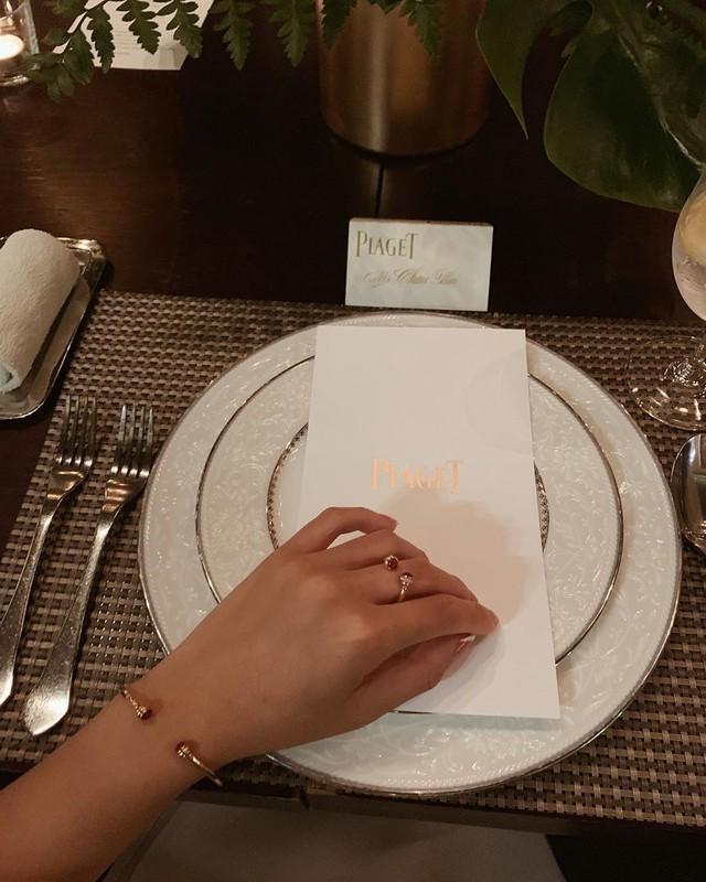 Châu Bùi đeo đồng hồ tiền tỷ đi tham dự sự kiện Piaget tại Bangkok - ảnh 4