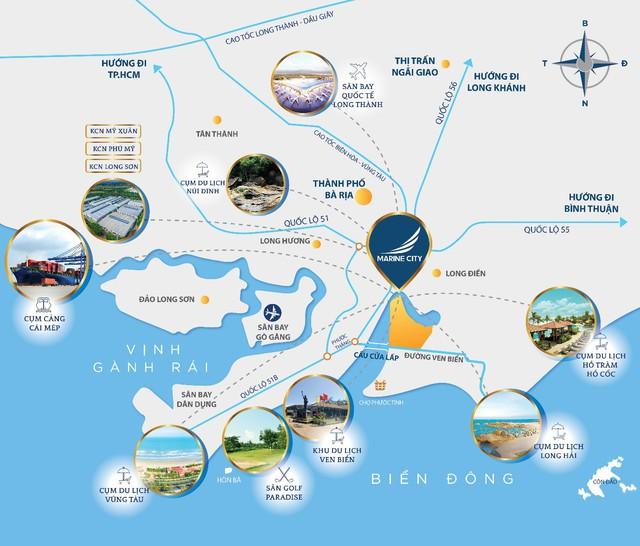 Khám phá sức hấp dẫn của khu đô thị cao cấp Marine City - Ảnh 1.
