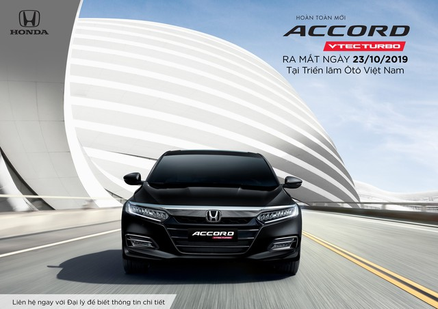 Honda Accord thế hệ thứ 10 ra mắt thị trường Việt Nam từ tháng 10/2019 - Ảnh 1.