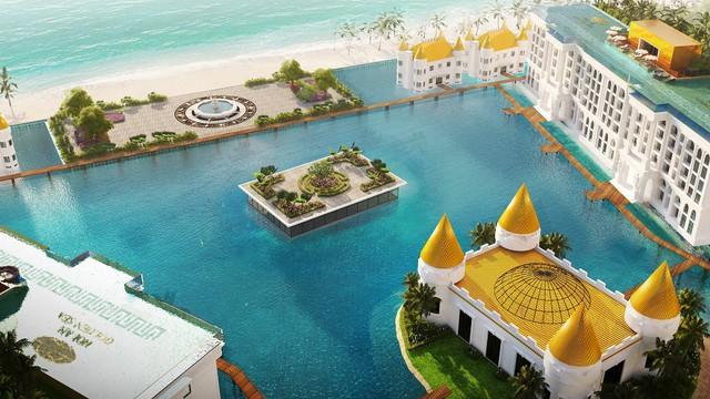 Tập đoàn Hòa Bình chuẩn bị ra mắt dự án Hội An Golden Sea tại Đà Nẵng - Ảnh 1.