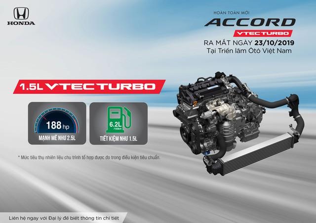 Honda Accord thế hệ thứ 10 ra mắt thị trường Việt Nam từ tháng 10/2019 - Ảnh 2.
