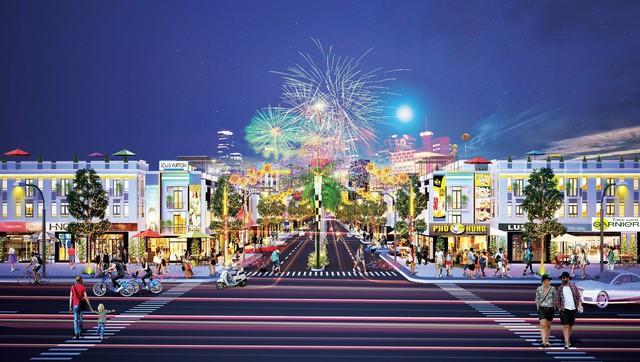 Lý giải sức hút nhà phố thương mại Hana Garden Mall - Ảnh 1.