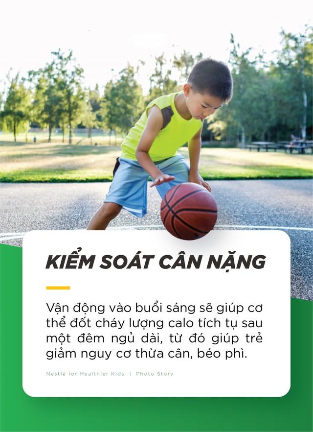 Công dụng tuyệt vời của các bài tập thể dục trước mỗi bữa ăn sáng đối với sự phát triển thể chất, kĩ năng và trí tuệ của trẻ - Ảnh 1.