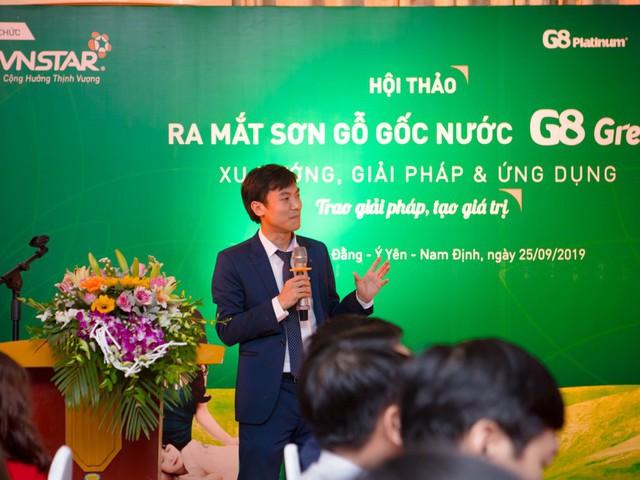 Lễ ra mắt sơn gỗ gốc nước G8 Green: Xu hướng, giải pháp và ứng dụng - Ảnh 1.